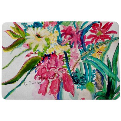 Garden Multi Florals Doormat Mat Size: Rectangle 30 x 50
