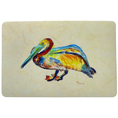 Gertrude Pelican Doormat Mat Size: 26 x 42