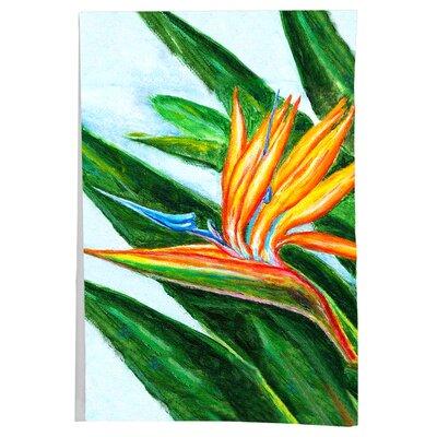 Garden Bird of Paradise Flower Hand Towel (Set of 2)