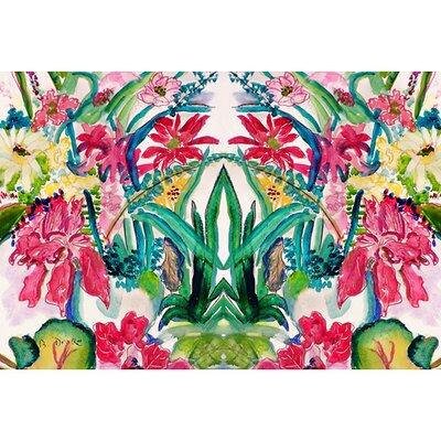 Garden Multi Florals Doormat Size: 18 H x 26 W