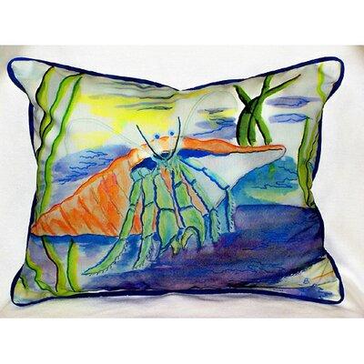 Betsy Drake Interiors Coastal Hermit Indoor / Outdoor Pillow at Sears.com