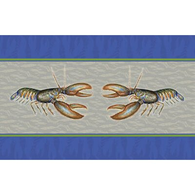 Coastal Lobster Doormat Size: 30