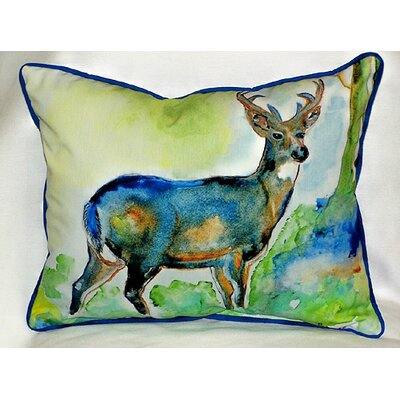 Lodge Deer Indoor/Outdoor Lumbar Pillow