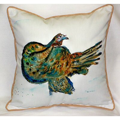 Holiday Turkey Indoor/Outdoor Throw Pillow