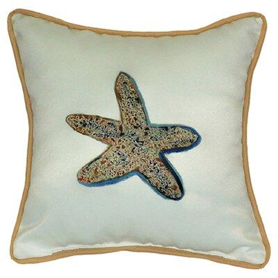 Coastal Starfish Indoor/Outdoor Throw Pillow