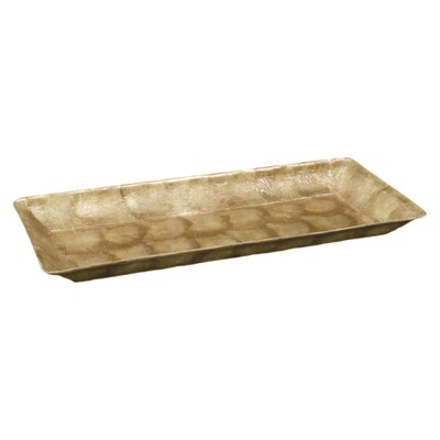 Capiz Rectangular Tapered Tray