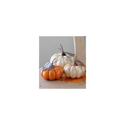 Capiz Pumpkin Figurine NW-907217-G