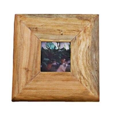 Reclaimed Wood Picture Frame Size: Small