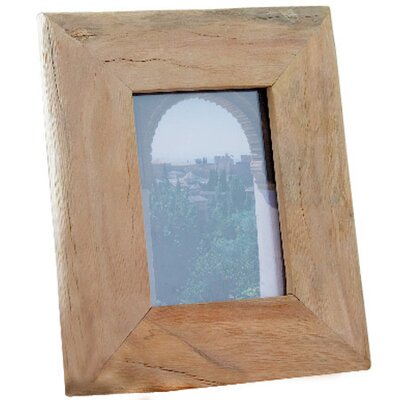 Reclaimed Wood Picture Frame Size: Medium