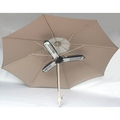 Rent Umbrella Electric Patio Heater...