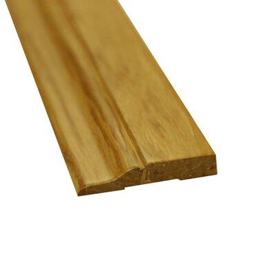 0.5 x 3 x 72.75 Bamboo Strand Wall Base in Natural