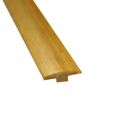 0.31 x 2 x 72.75 Bamboo Strand T-Molding in Natural