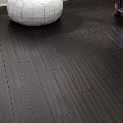 4 Engineered Bamboo  Flooring in Ebony