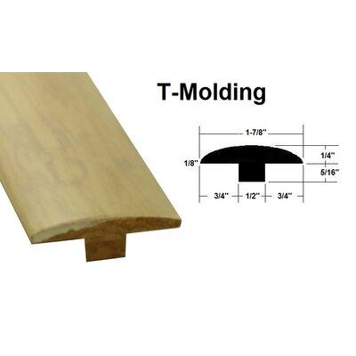 0.56 x 1.89 x 72.83 Bamboo T-Molding