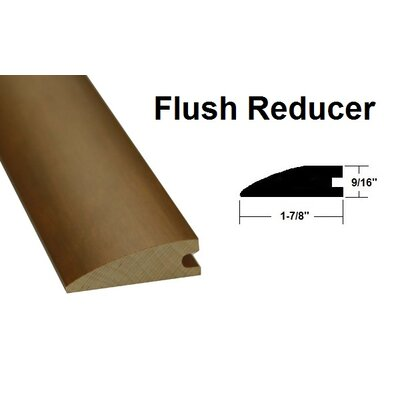 0.56 x 1.88 x 78.75 Oak Flush Reducer in Light Yellow and Brown