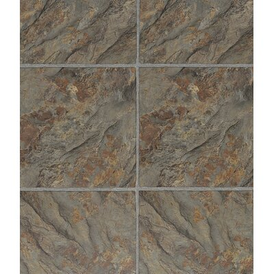 3 Piece Grouted Style 12 x 36 x 4mm Luxury Vinyl Tile in Florentine Slate