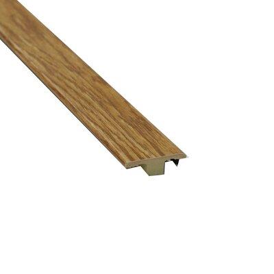 0.63 x 1.75 x 72 Laminate Golden Oak T-Molding