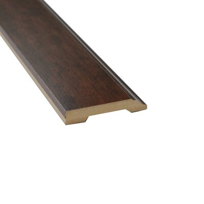 0.56 x 3.25 x 94 Laminate Sumatra Hickory Wall Base