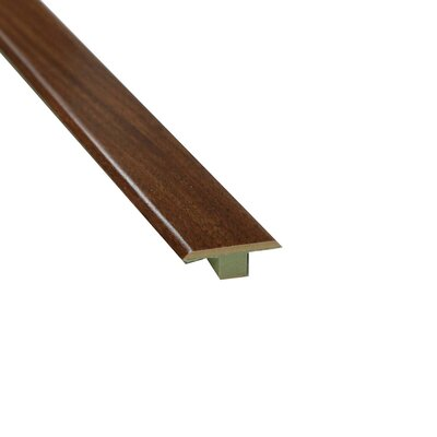 0.63 x 1.75 x 72 Laminate Brazilian T-Molding in Cherry