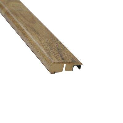 0.88 x 2.13 x 94 Laminate Chablis Hand-Scraped Stair Nose
