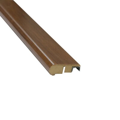 0.88 x 2.13 x 94 Laminate Chestnut Hand-Scraped Stair Nose