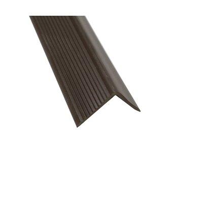 "1.13"" x 1.38"" x 72"" Stair Nose in Brown 510-502"