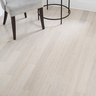 3-5/8 Solid Bamboo  Flooring in White