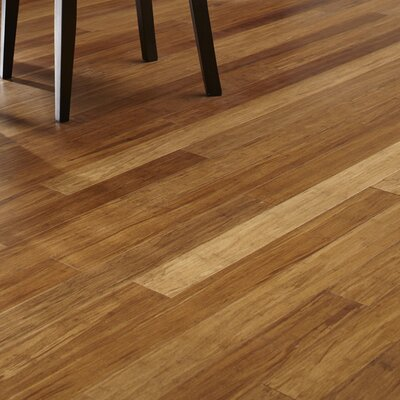 3-3/4 Solid Bamboo  Flooring in Carbonized
