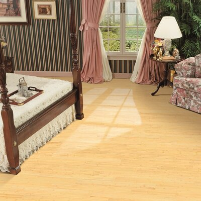 3.75 Solid Bamboo Flooring in Natural