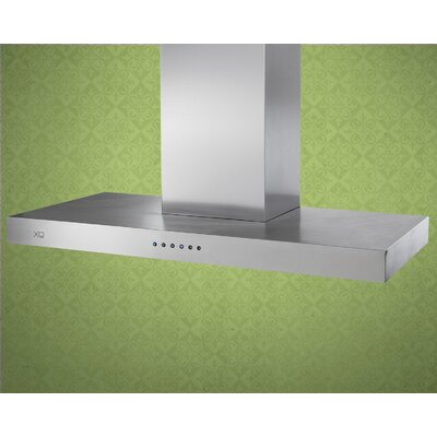 "XO Ventilation 600 CFM Low Profile Chimney Wall Hood - Width: 24"" at Sears.com"