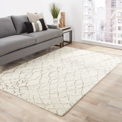 Elmira Beige/Brown Area Rug Rug Size: 8' x 10'