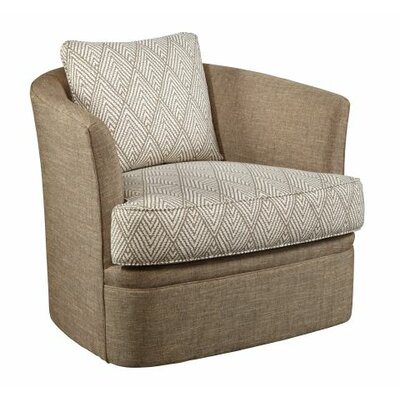 Kendra Swivel Barrel Chair