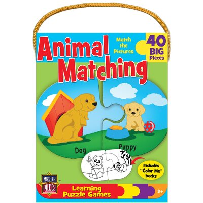 MASTERPIECES Animal Matching Game 40 Piece Jigsaw Puzzle at Sears.com