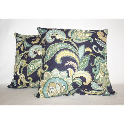 Maylie Ocean Floor Throw Pillow