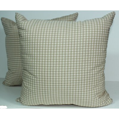 Colburn Throw Pillow Color: Natural