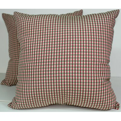 Colburn Throw Pillow Color: Rose