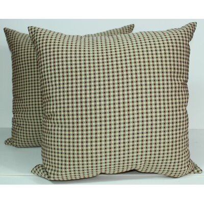 Colburn Throw Pillow Color: Canyon