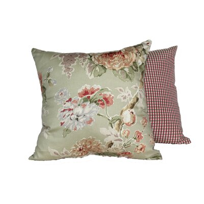 Le Fluer 2 Piece Throw Pillow Set Color: Sage