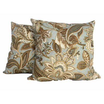 Jacobie Throw Pillow Color: Mist