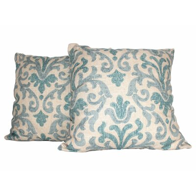 Tracery Throw Pillow Color: Mist