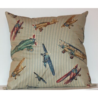 Airshow Throw Pillow