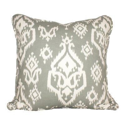 Raji 100% Cotton Throw Pillow Color: Cool Gray