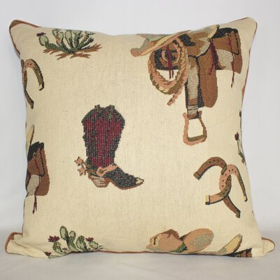 Ponderosa Saddle Throw Pillow