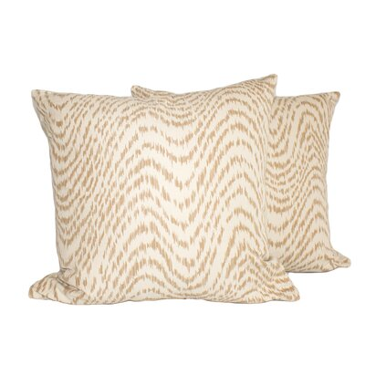 Fancy Wave Throw Pillow