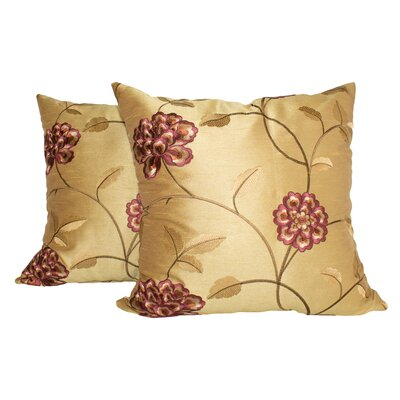 Throw Pillow Color: Gold