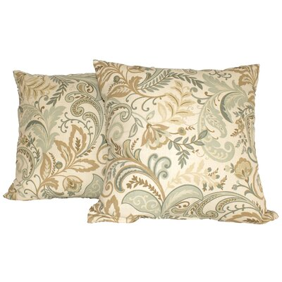Pashmina Throw Pillow Color: Spa