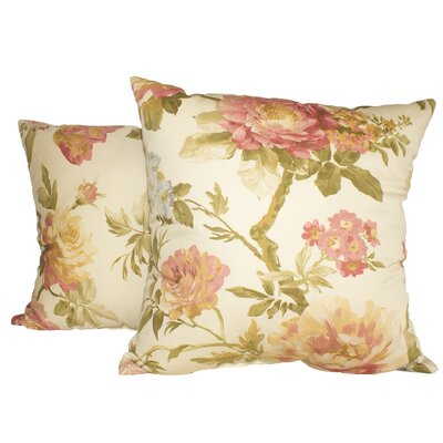 Casa Di Fiori Throw Pillow