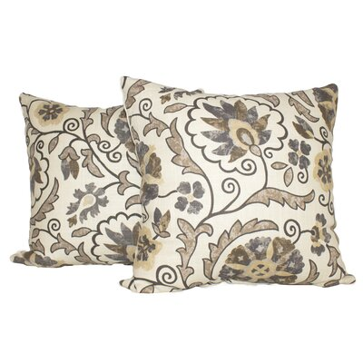 Rosales Cotton Throw Pillow