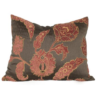 Bumpy Fire Flower Throw Pillow