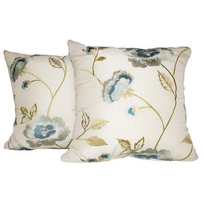 Lin Cotton Throw Pillow Color: Oyster